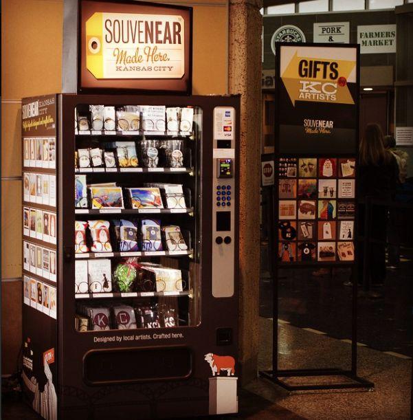 Artisan Souvenir Vending Machines