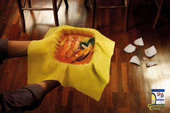 Spill-Proof Towel Campaigns