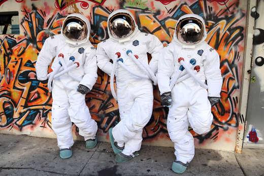 City-Dwelling Astronaut Photography