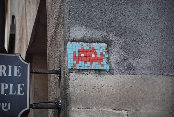 Retro Gamer Graffiti