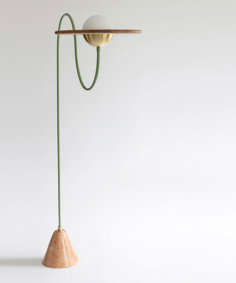 Saturn-inspired Lamp Designs