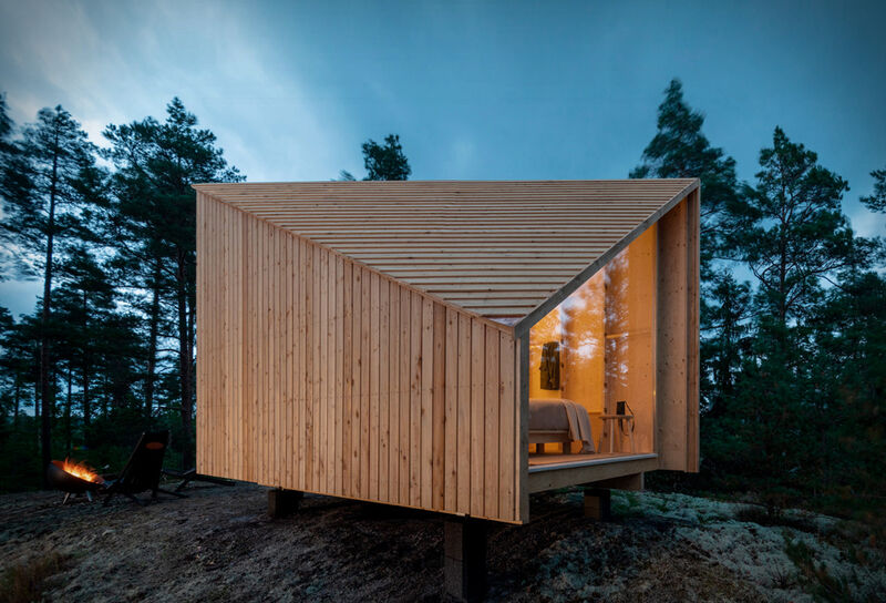 Fully-Assembled Remote Cabins