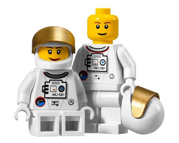 lego astronaut spaceship - photo #9