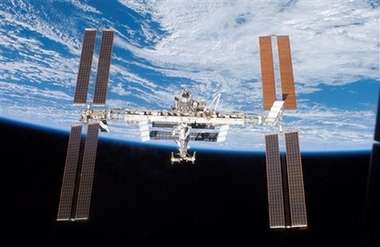 Space Station Becomes the Brightest Manmade Object in the Sky