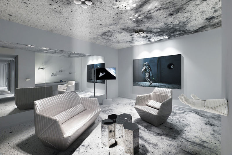 Galactic Hotel Rooms