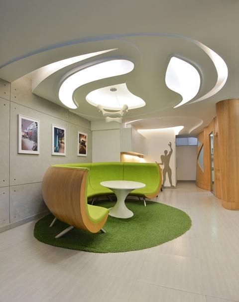 Experimental Ceilinged Offices