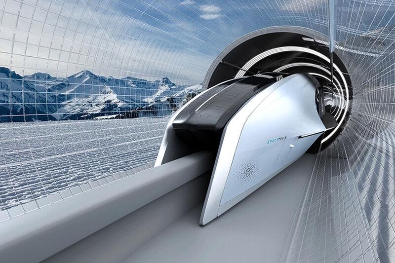Energy-Efficient Maglev Trains