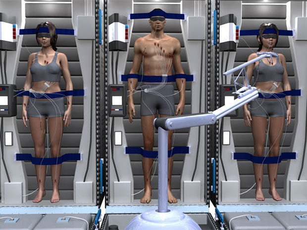 Static Space Transportation Techniques