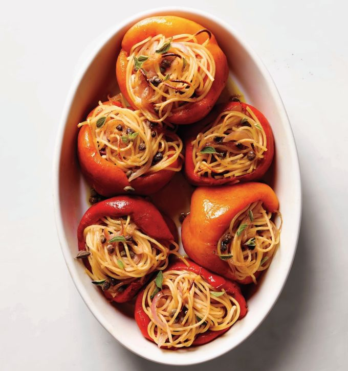 Pasta-Stuffed Veggie Recipes