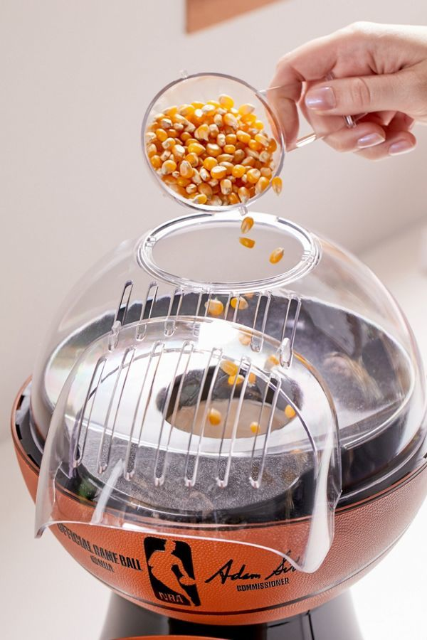 Basketball-Themed Popcorn Makers