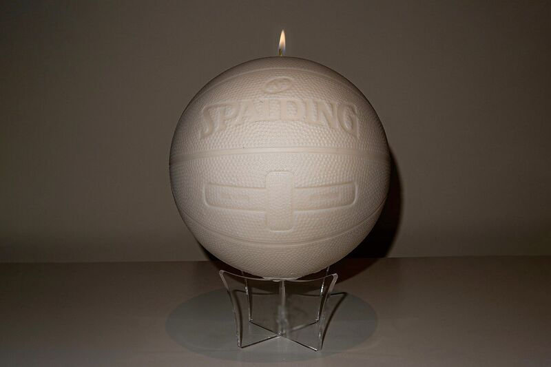 Hand-Poured Basketball Candles