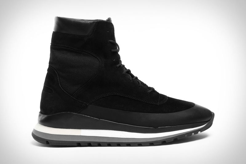 Supportive Boot-Inspired Sneakers