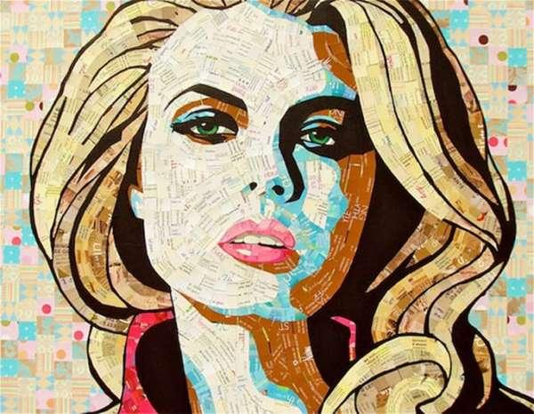 Mosaic Junkmail Portraiture