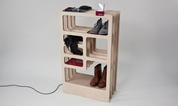 Divine Shoe-Drying Shelves