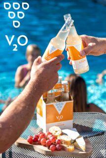 Sparkling Balsamic Vinegar Waters