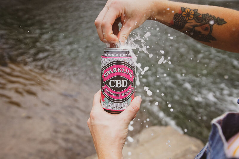 Effervescent CBD Waters