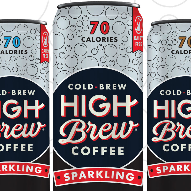 Sparkling Cold Brew Cans