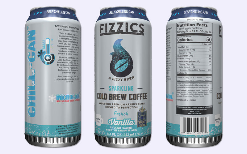 Self-Cooling Canned Coffees