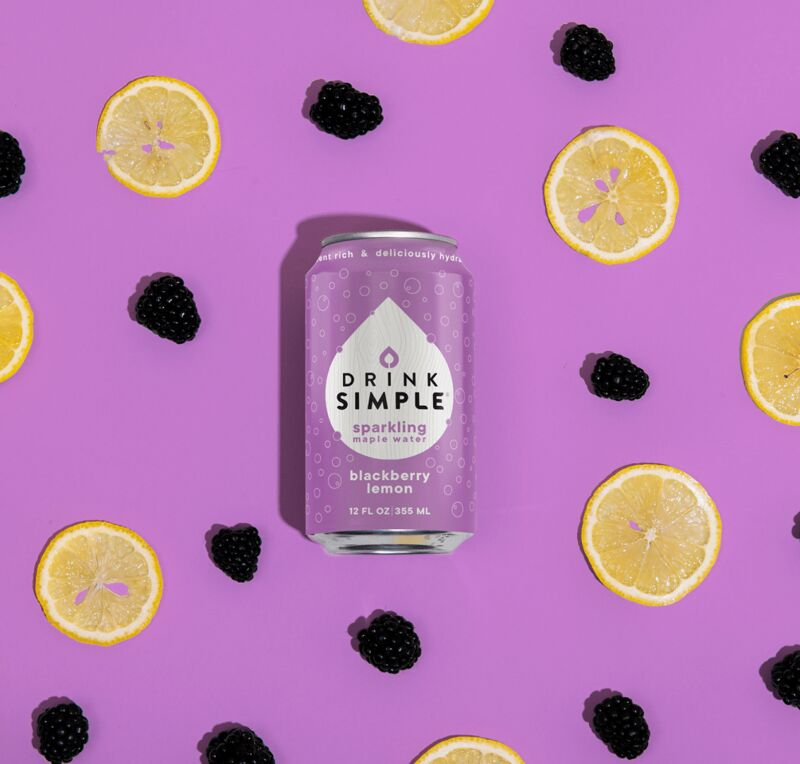 Summery Maple Water Drinks
