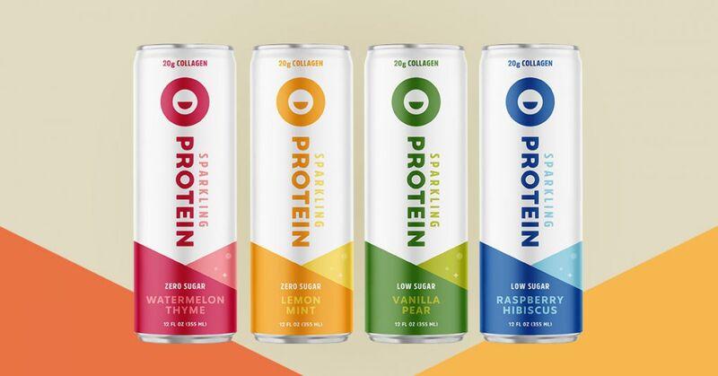 Sparkling Protein Beverages
