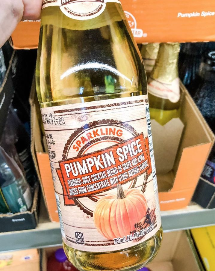 Sparkling Pumpkin Spice Juices