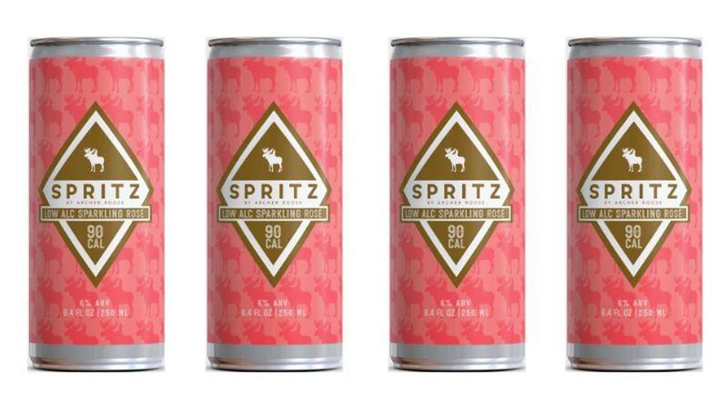 Canned Sparkling Rosés