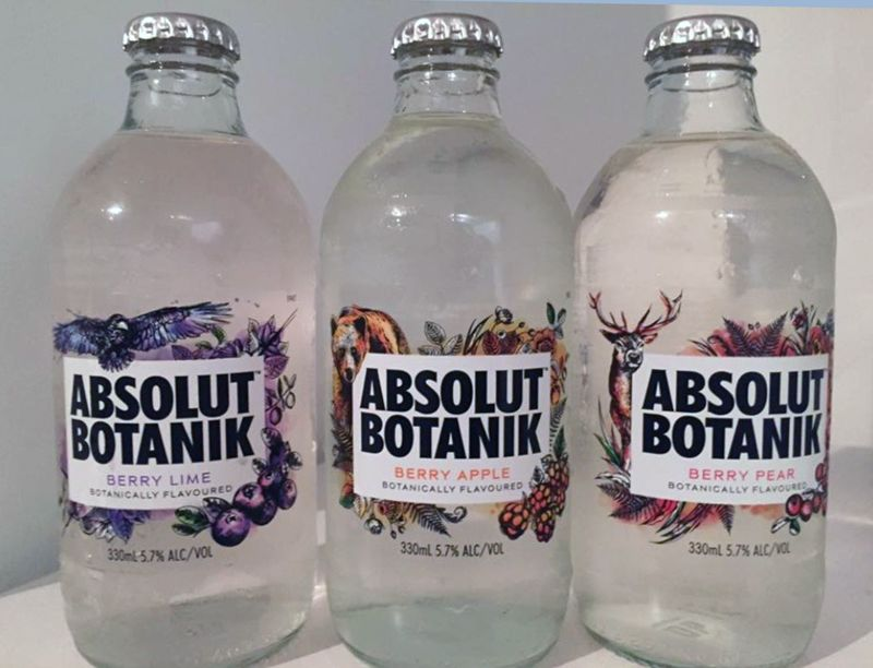 Sparkling Vodka Drinks