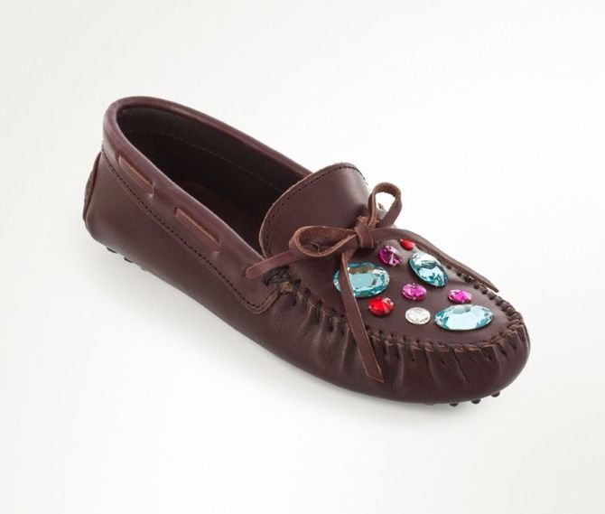 Crystal-Covered Moccasins