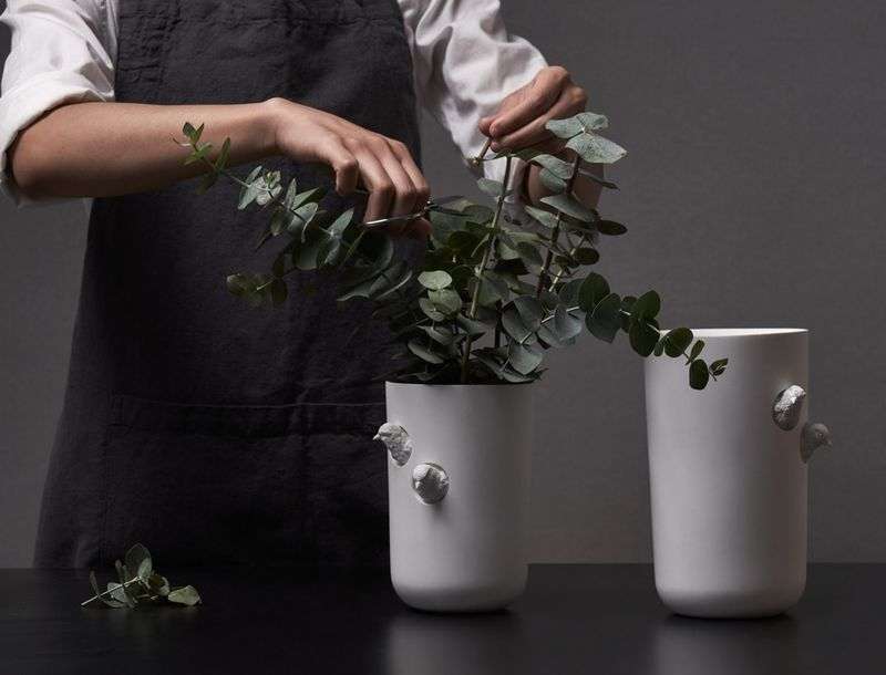 Naturalistic Post-Modern Vases