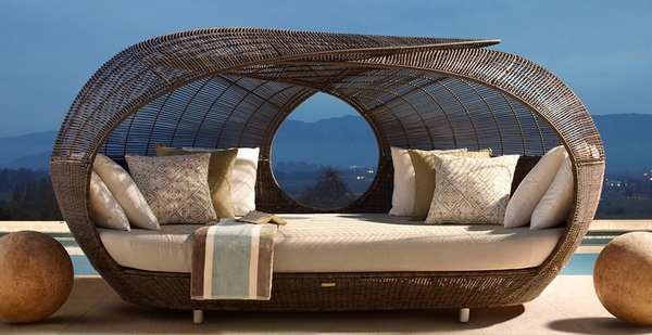 Wicked Wicker Loungers