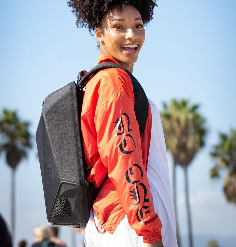 Beat-Blasting Commuter Backpacks