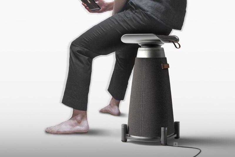 Sensory Experience Speaker Stools