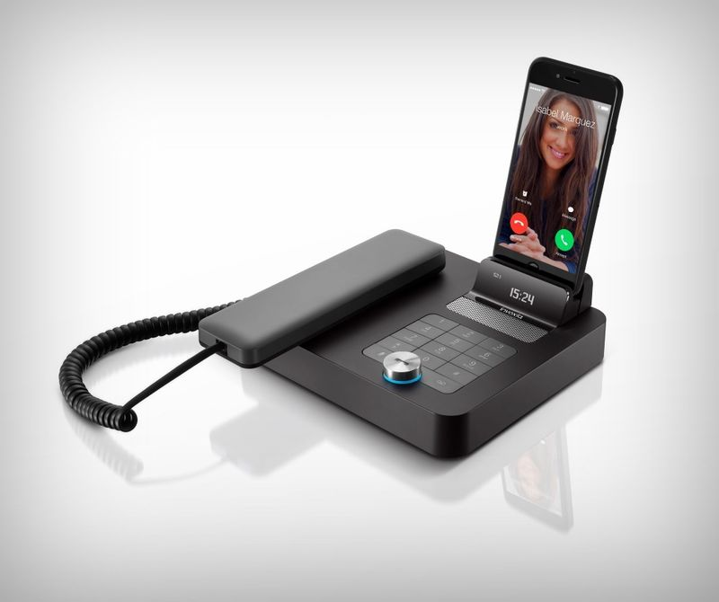 Landline Smartphone Speaker Docks