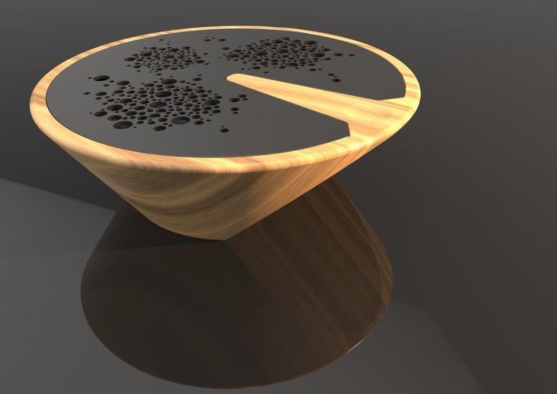 Multidirectional Wooden Speaker Units