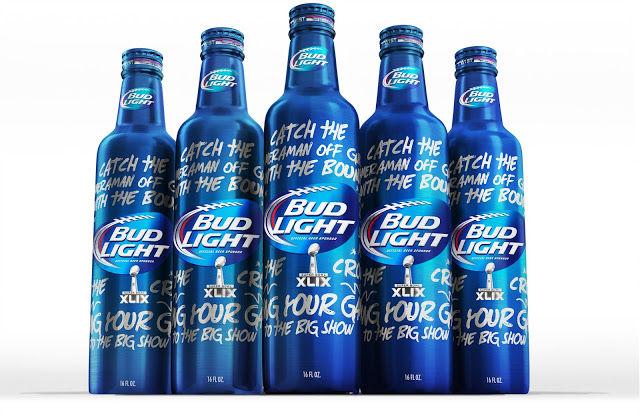 Football Beer Bottles