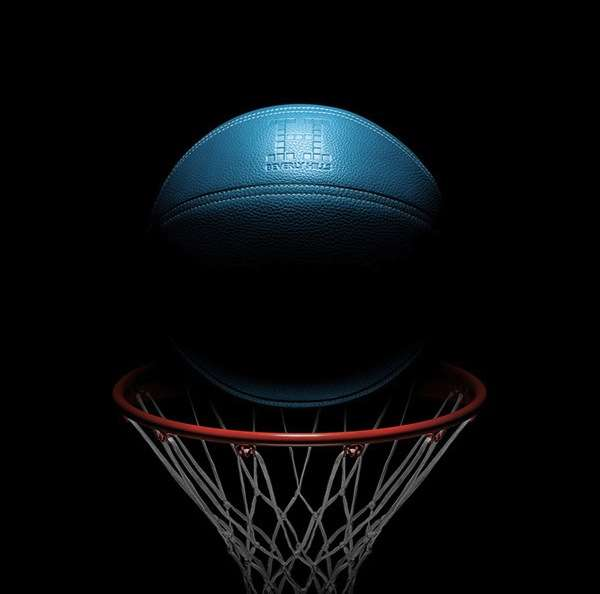 $13,000 Blue Basketballs
