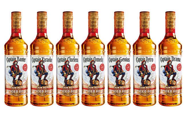 Personality-Packed Rum Bottles