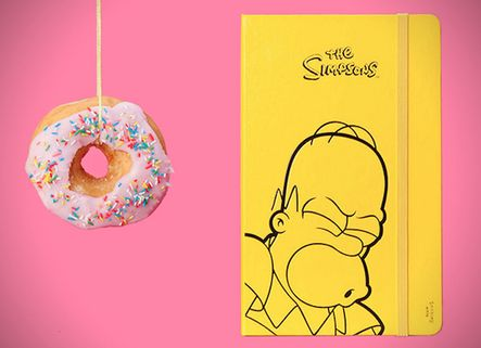 Iconic Cartoon Notebooks