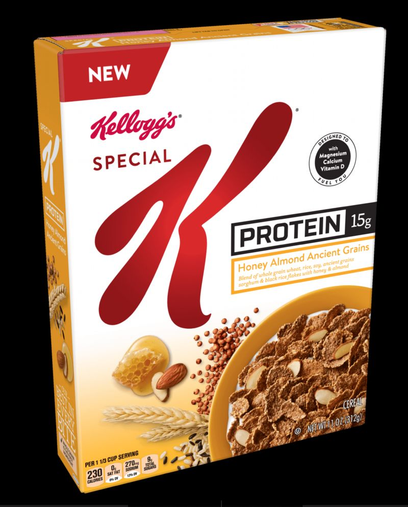 Protein-Rich Cereal Offerings : special K protein cereal