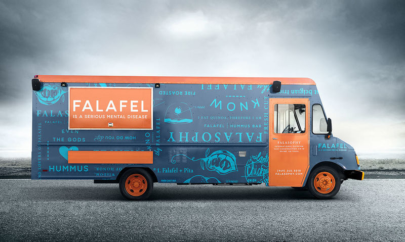 Mobile Falafel Carts