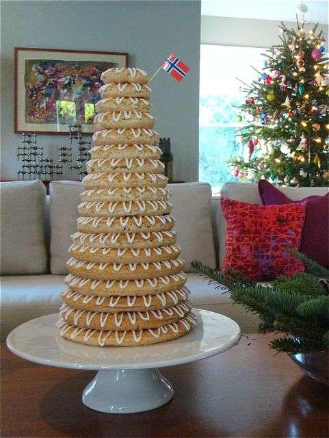 Towering Christmas Treats