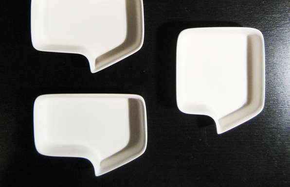 Conversational Kitchen Crockery