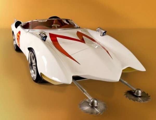Real Life Cartoon Cars Speed Racer Replica Car