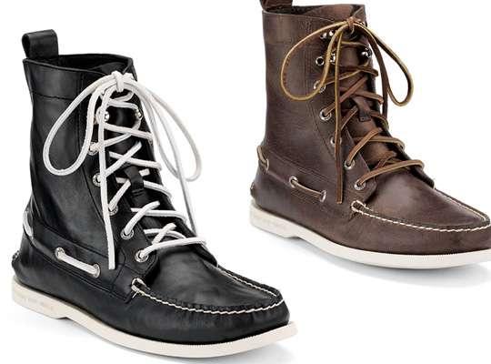 winter boat shoes sperry top sider cloud logo. Black Bedroom Furniture Sets. Home Design Ideas