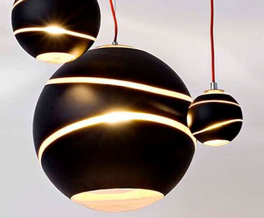 Dangling Bubble Lamps