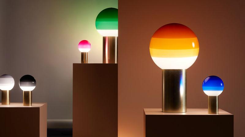 Stylish Translucent Spherical Lamps