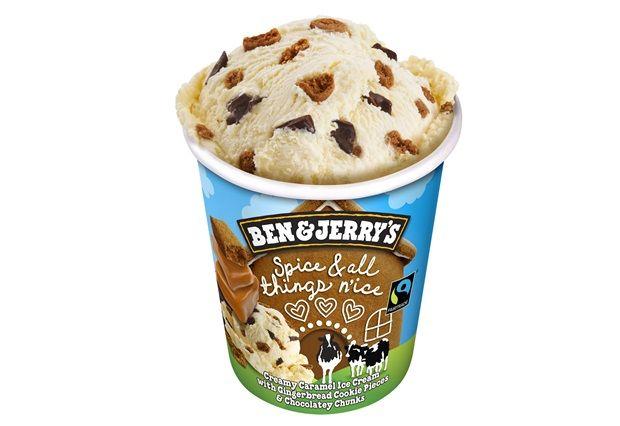 Festively Spiced Ice Creams