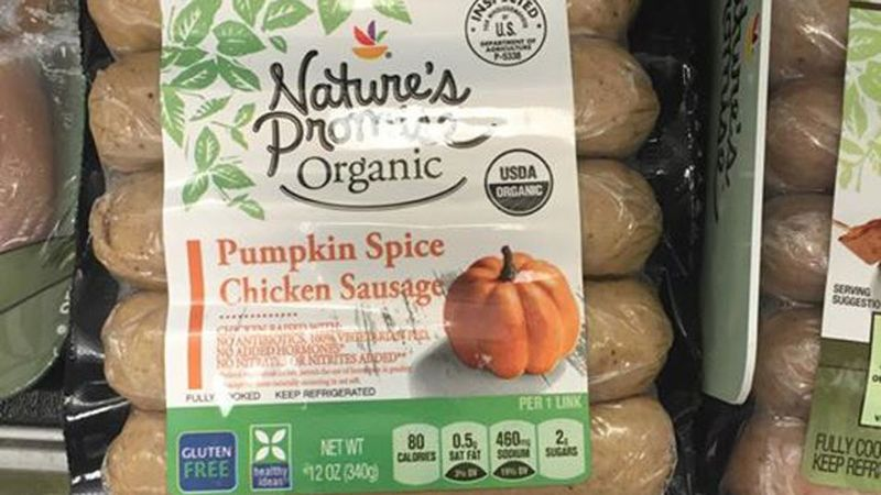 Pumpkin-Flavored Sausages