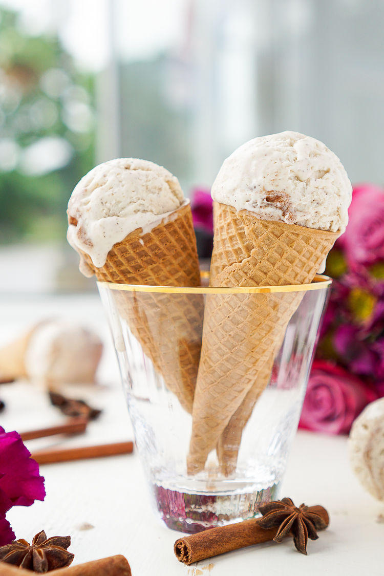 Spice-Sprinkled Ice Creams