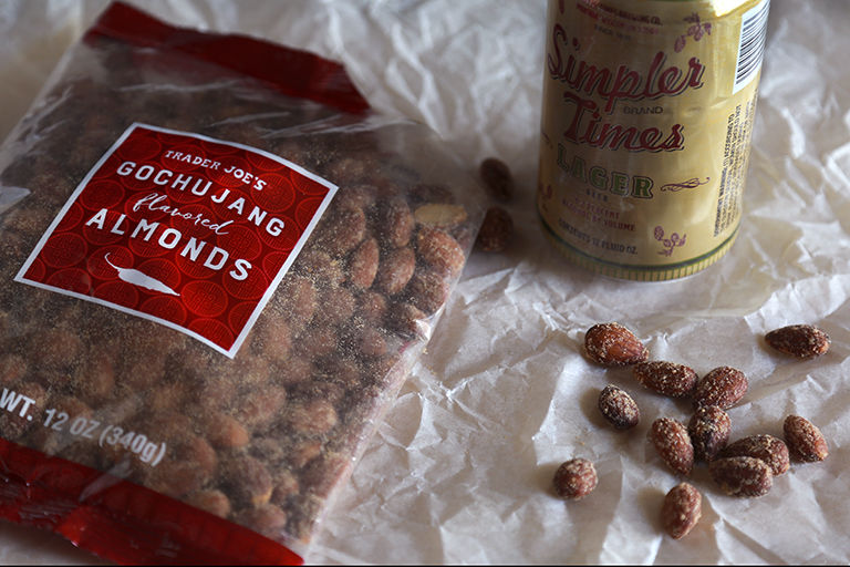 Korean-Style Spiced Almonds